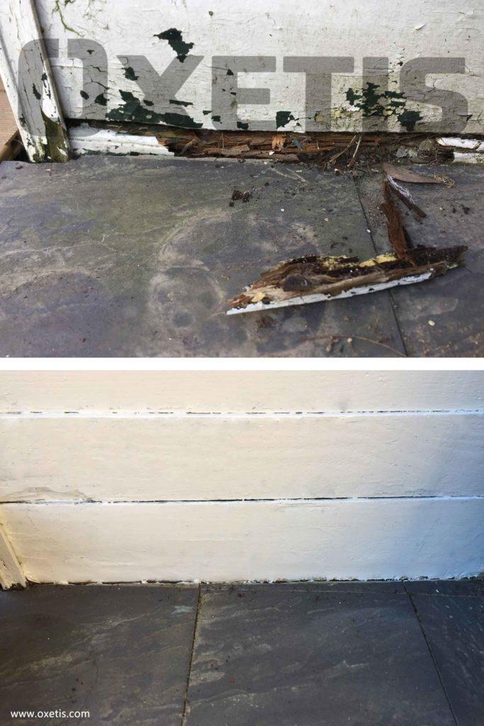 réparation bois