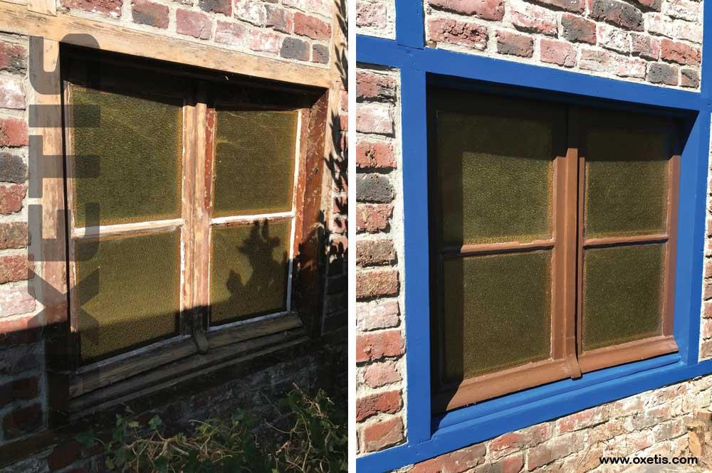 peinture fenêtre